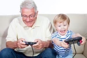 jeu video et enfant