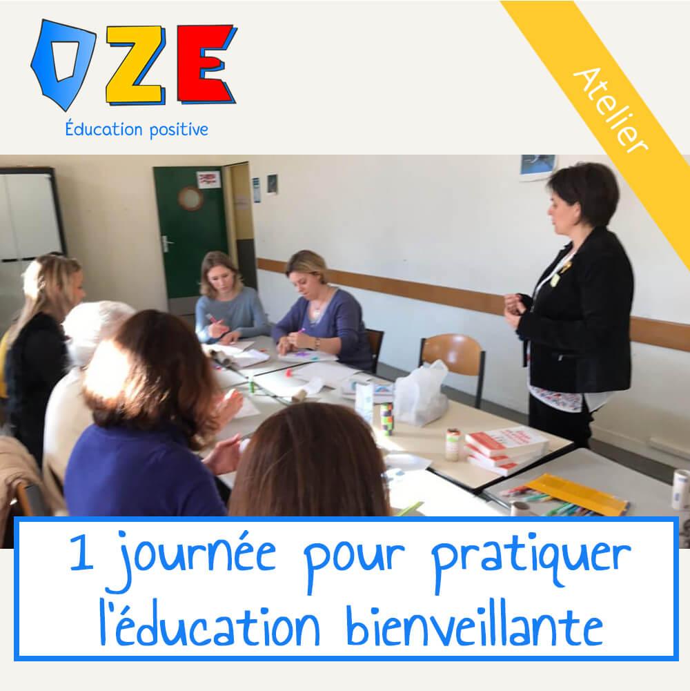 Atelier 1 journée – Pratiquer l'éducation bienveillante