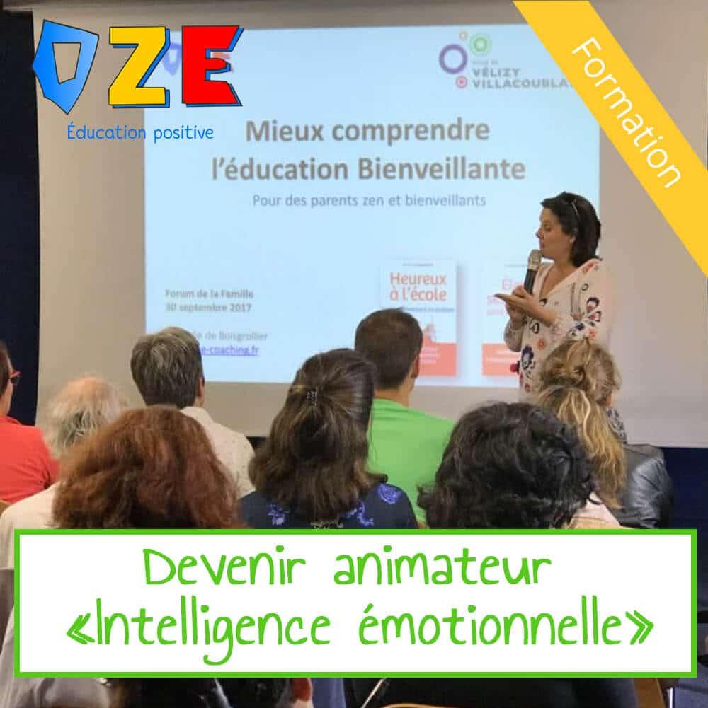 Formation Animateur  – Intelligence émotionnelle