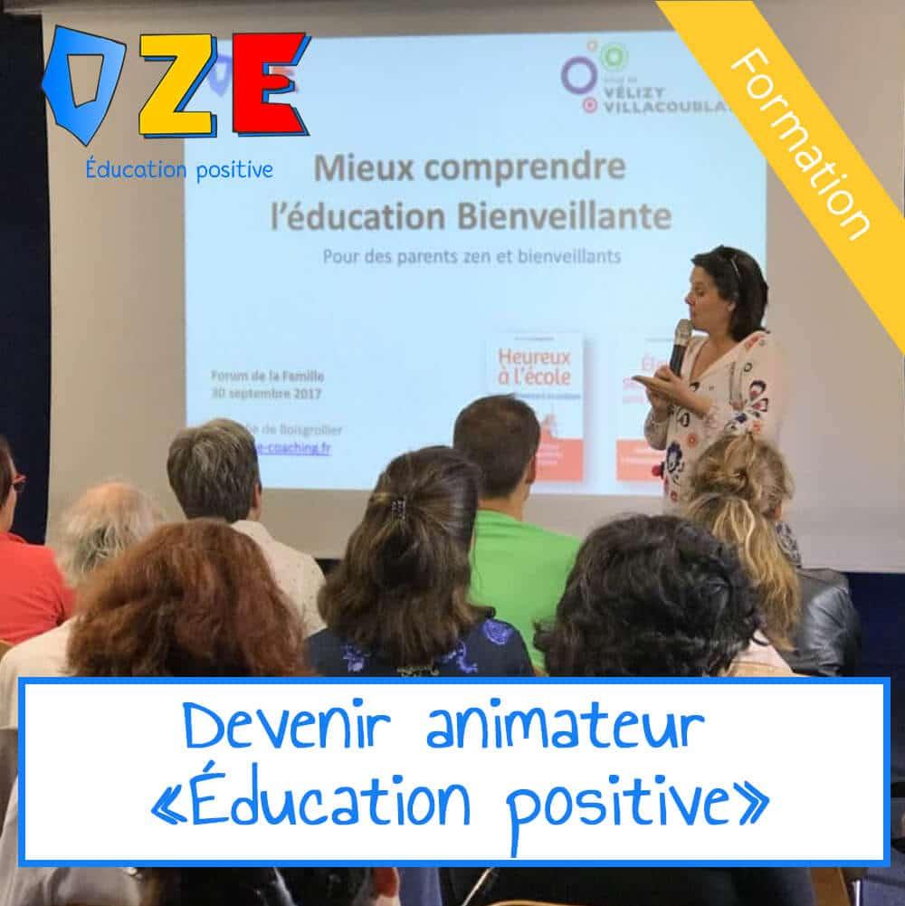 Formation Animateur  – Éducation positive