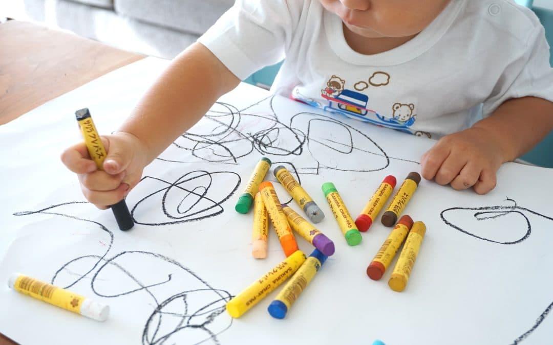 Entretenir la créativité des enfants